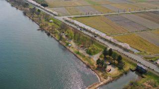 【高島市】『太田浜』のアウトドア情報(駐車場・トイレ・アクセス)