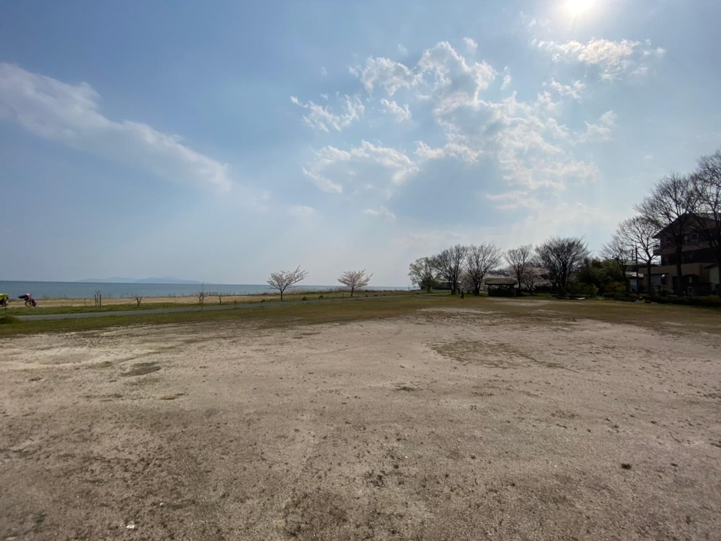 【高島市】『松ノ木内湖』のアウトドア情報(駐車場・トイレ・釣り)