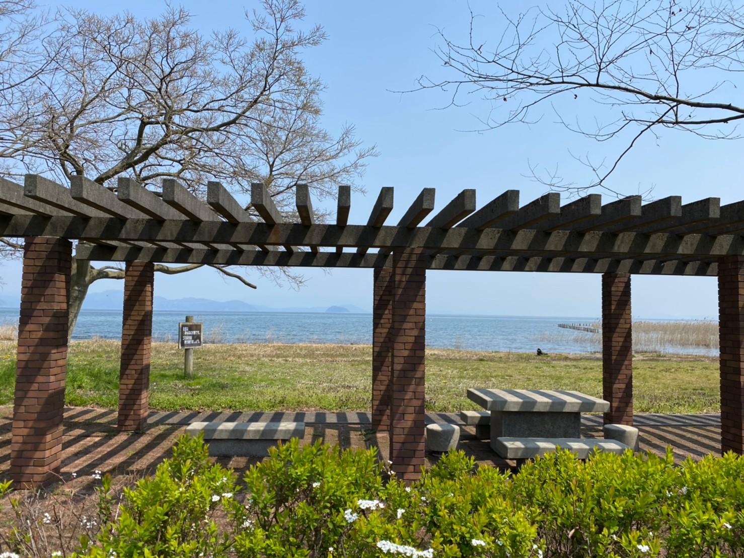【高島市】『湖岸緑地 新旭浜園地・針江浜』のアウトドア情報