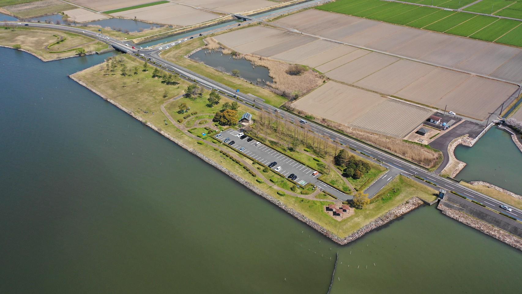 【守山市】『湖岸緑地 赤野井-1』のアウトドア情報