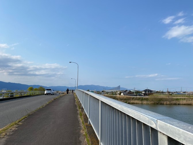 【釣り場&桜の名所】『新草津川』周辺のアウトドア情報
