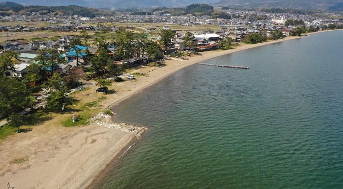 【大津市】『和邇浜水泳場:わに』のアウトドア情報(駐車場・トイレ・釣り)