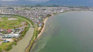 【滋賀県大津市】『真野浜水泳場』の観光ガイド(駐車場・トイレ)