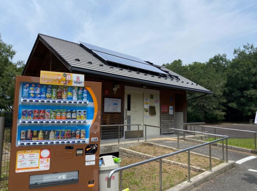 【彦根市】『曽根沼湖岸緑地公園』のアウトドア情報(駐車場・トイレ)