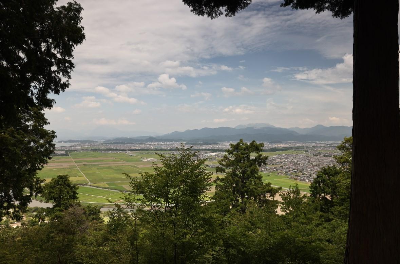 彦根八景『うみ風渡る 荒神山』ウォーキングガイド(神社・トイレ・パラグライダー)