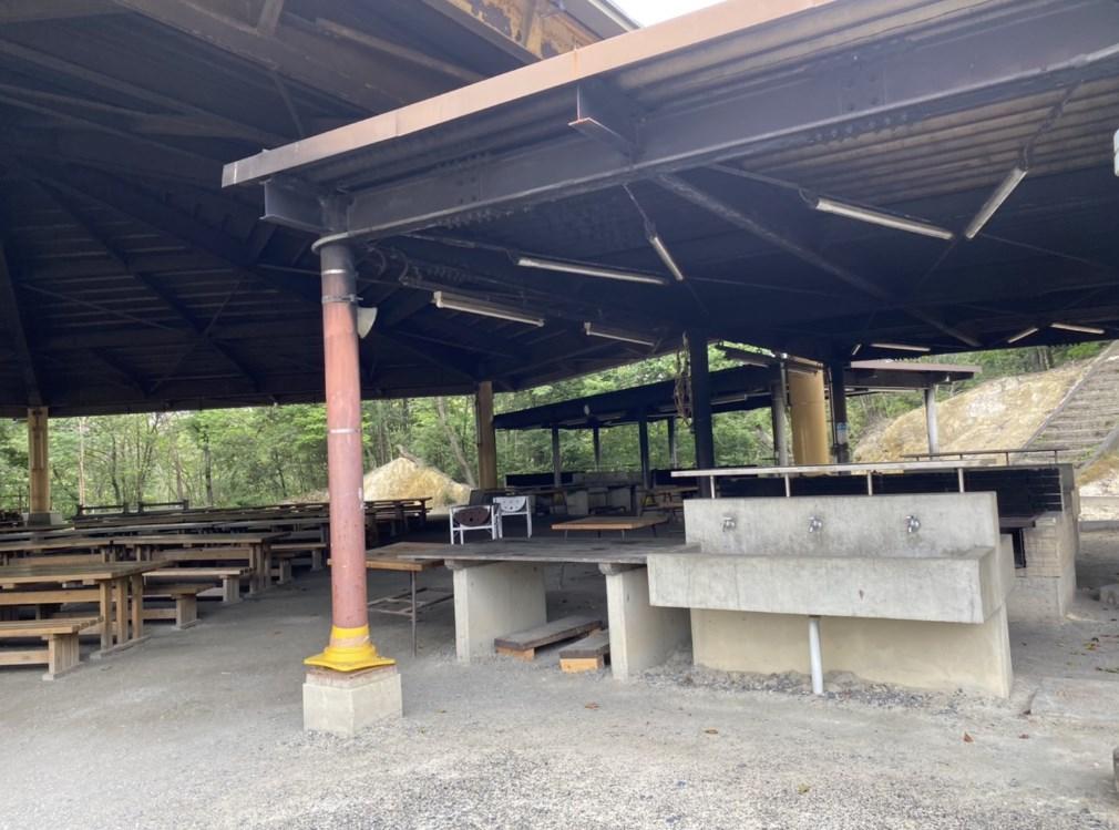 【滋賀県最大のキャンプ場】『希望が丘文化公園野外活動センター』キャンプ場ガイド(駐車場・トイレ)
