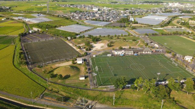 【守山市】『野洲川歴史公園サッカー場 ビッグレイク』情報まとめ(アクセス・駐車場・トイレ)