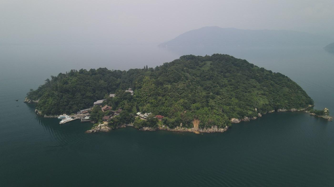 琵琶湖アウトドアマップ|竹生島